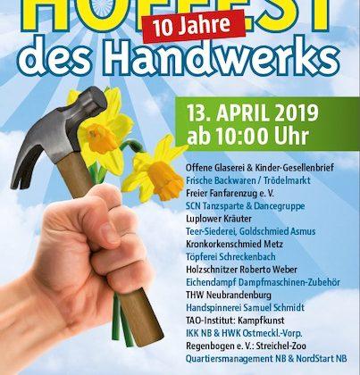10. Hoffest am 13.04.2019